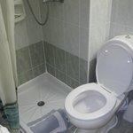 room 2 tiny shower
