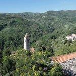 View from window of La Cascia