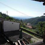 View from terrace of La Cascia