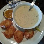 Coconut Shrimp and Seafood Chowder