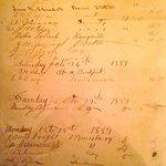 Guest register c. 1889