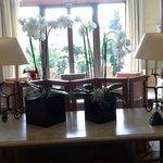 Center lobby of hotel