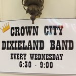 DixieLand Band Wed. 6.30-9pm