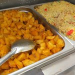 the Buffet Hashbrown & Rice Pilaf