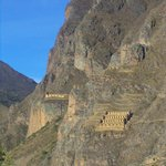 vue sur les ruines de Pinkuylluna depuis l'hotel