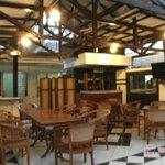DIning Area of Guesthouse Wisma Jasa Tirta I