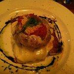 polenta & eggplant Napoleon