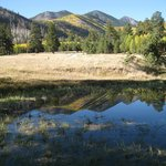 Nice reflection at Lockett Meadow.