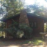 side of cabin 1