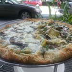 Moon Pie and Mediterranean Pizza