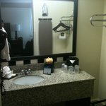 Banheiro bem organizado