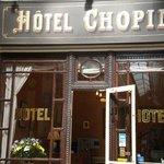 Front Door Hotel Chopin (Jouffroy passage)