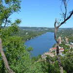 Daytime view from Mt Bonnell