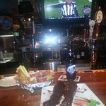 Dollar Ribs and half price wings for football
