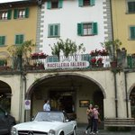 Paolo recommended Antica Macelleria Falorni - the oldest butcher shop in Italy.