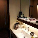 The walkthough bathroom