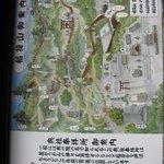 Map of torii gate path