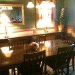 Sala de Jantar, onde é servido o café da manhã