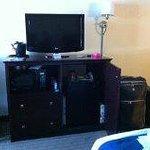 habitación: TV, microondas, heladerita