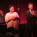 Jim Caruso with Yvonne Simone - she's a standout talent.