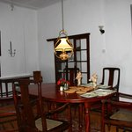 Dining room in Airie Cottage