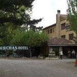 Entrada Principal Hotel Las Truchas