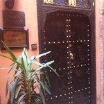 Door in to Riad
