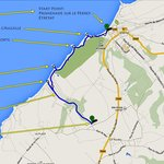 Hiking Route from Etretat to Alabaster Coast to Antifer Beach to Carpark