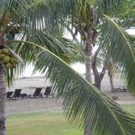 view onto the beach