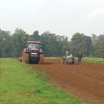 Cultivating and ploughing
