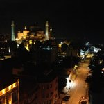 Roof Top view of the Hagia Sophia
