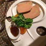 Foie gras avec confiture de figue ! Un délice
