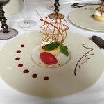 Dessert, tarte citron meringuée revisitée.