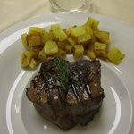 Filetto con patate al forno
