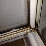 Porte de la vitre de la cabine de douche Chambre bleu