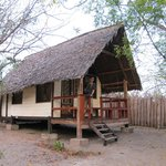 view of the hut (banda)