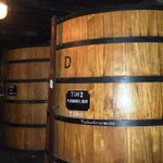 Wine ageing in the barrels