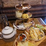 Delicious afternoon tea at the Cheese Loft!