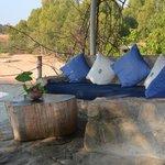 Mbungu seating area