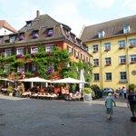 Marktplatz, upper town