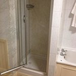 for £200 a night was hoping to get the both of us in the shower