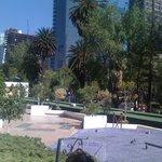 Paseo Reforma vom Hotel (1.Etage)