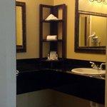 Huge vanity area