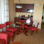 Roomy dining area w/adjoining kitchenette