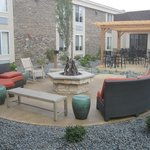 Great sitting area in courtyard