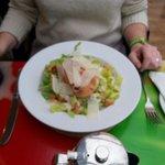 Chicken Caesar Salad, very fresh