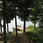 pour descendre au lac