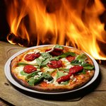 Columbus Day Special Wood Fired Pizza