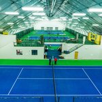 The Tennis Center has 6 indoor courts