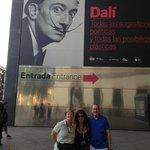 Edurne, my husband and I at the Reina Sofia